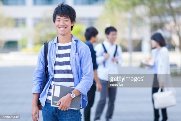 日本人の学生
