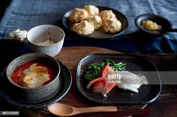 Japanese style, breakfast