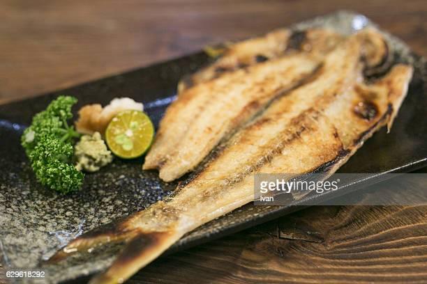 Japanese Style Grilled Mackerel