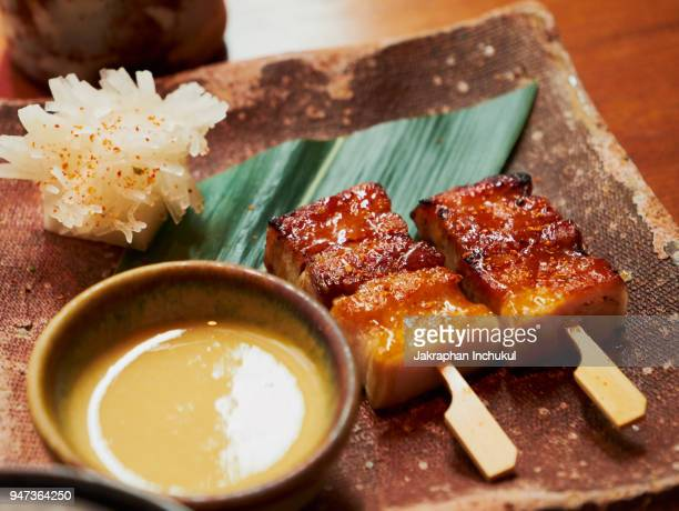 Japanese Style Grilled Pork Belly