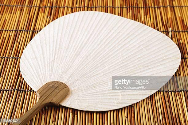 Japanese style paper fan