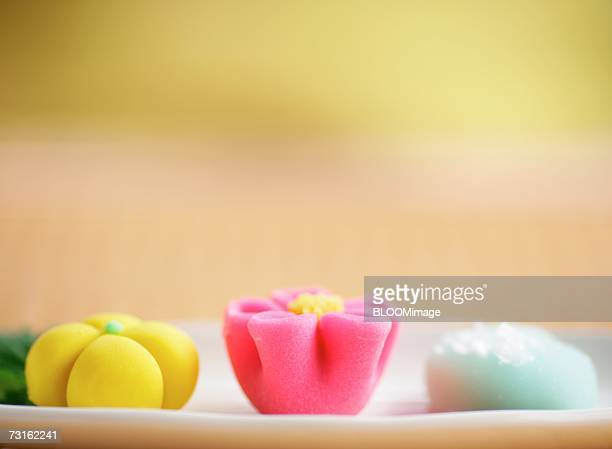 Japanese style sweets