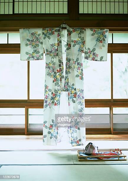 Japanese summer kimono(Yukata)