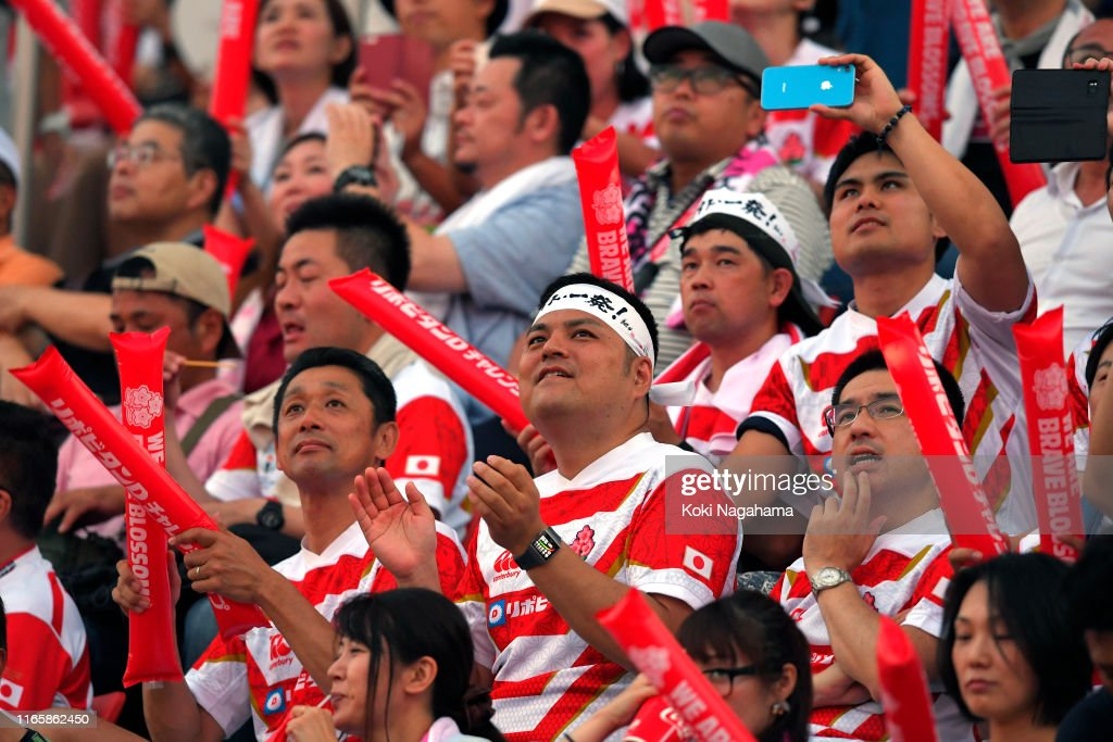 Japan v Tonga - Pacific Nations Cup : News Photo