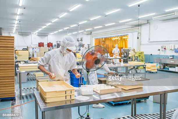 japanese sweet factory workers - candy factory stock pictures, royalty-free photos & images