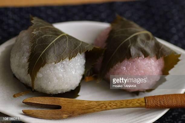 A Japanese sweet