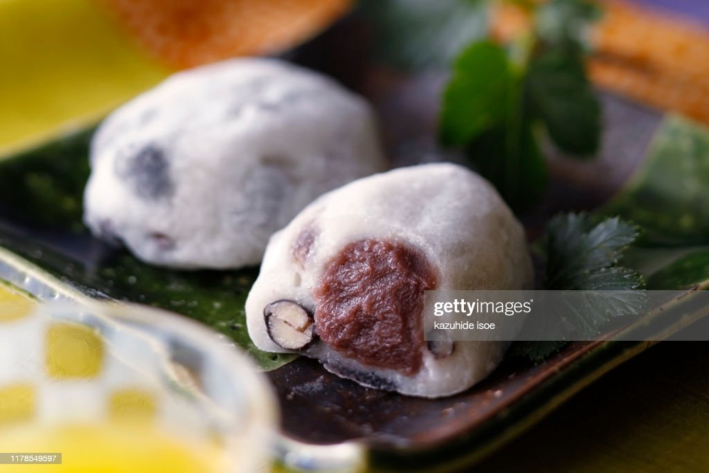 Japanese sweets : Stock Photo