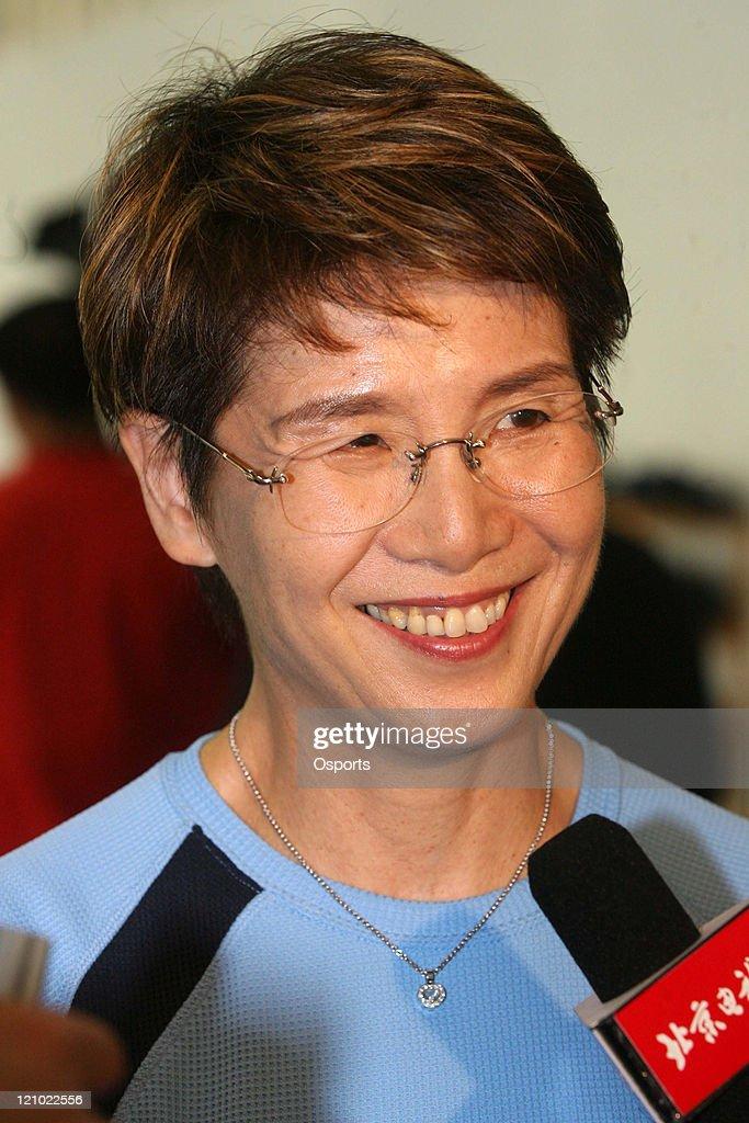 Synchronized Swimming - Masayo Imura Coaches Chinese National Team - March 6, 2007 : News Photo