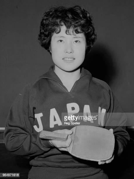 Japanese table tennis world champion Masako Seki during a tour of Europe, 12th May 1965.