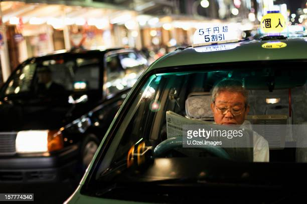 Japanese Taxi Driver