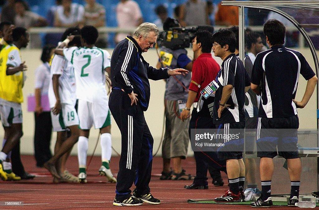 AFC Asian Cup 2007 Semi Final - Japan v Saudi Arabia : ニュース写真
