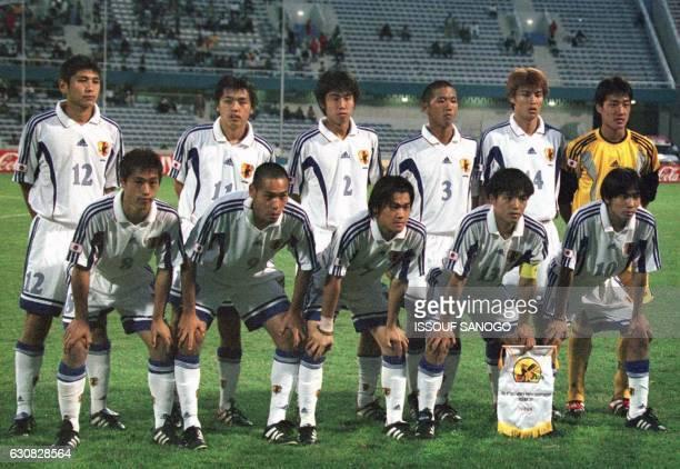 NAKATA Koji ENDO Yasuhito TESHIMA Kazuki TSUJIMOTO Shigeki NAGAI Yuichiro and MINAMI Yuta pose with OGASAWARA Mitsuo TAKAHARA Naohiro SAKAI Tomoyuki...