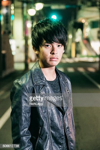 Japanese Teen Boy At Night Stock Photo  Getty Images-3136
