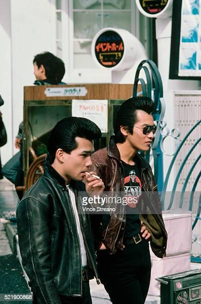 Japanese Teenagers in 50's Styles
