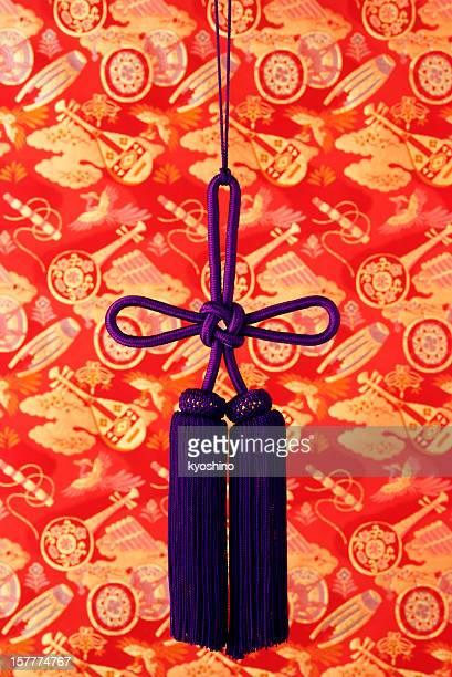 日本の伝統のパープルの束
