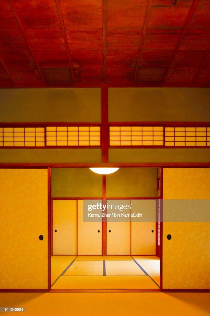 Japanese traditional room : ストックフォト