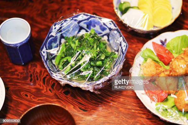Japanese traditional side dishes