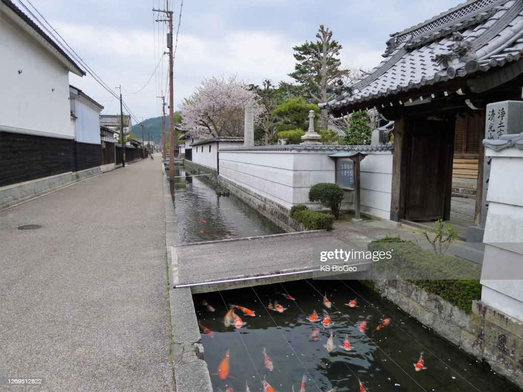 日本の伝統の町 : ストックフォト