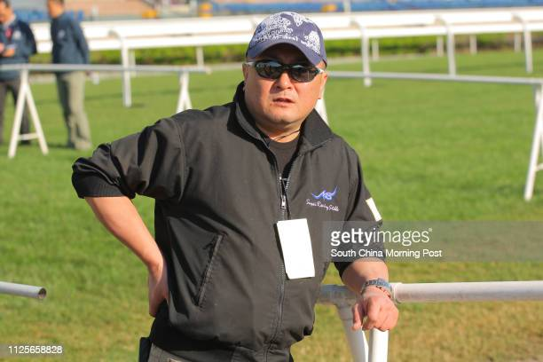 Japanese Trainer Naosuke Sugai At Sha Tin Trackwork On 02Dec13