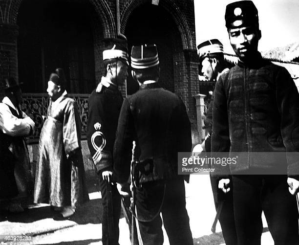 Japanese troops Korea 1900
