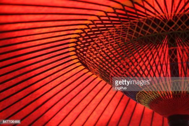 japanese umbrella - 伝統 ストックフォトと画像