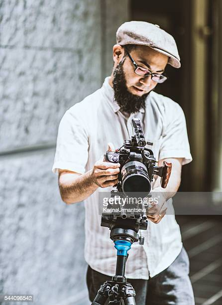 Japanese videographer in Kyoto