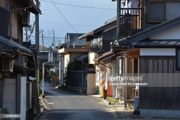japanese village - non urban scene stock pictures, royalty-free photos & images