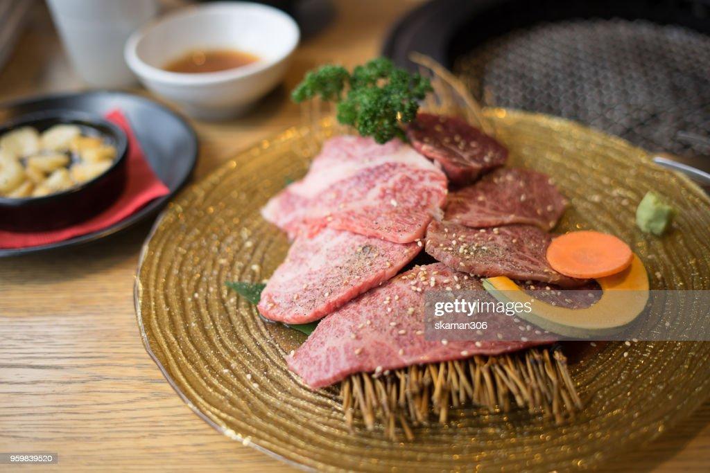 japanese wagyu  beef : ストックフォト