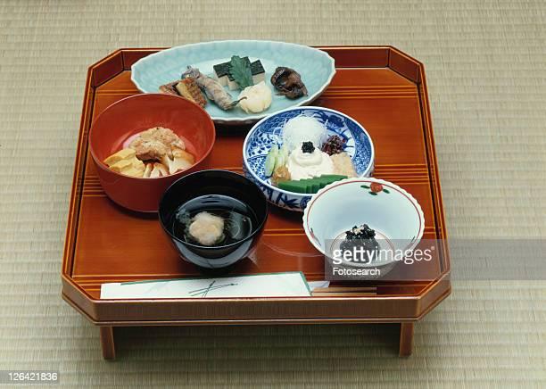 Japanese, Wild Grass Dish, Kaiseki Cuisine, Food and Drink
