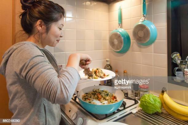 日本女性の料理