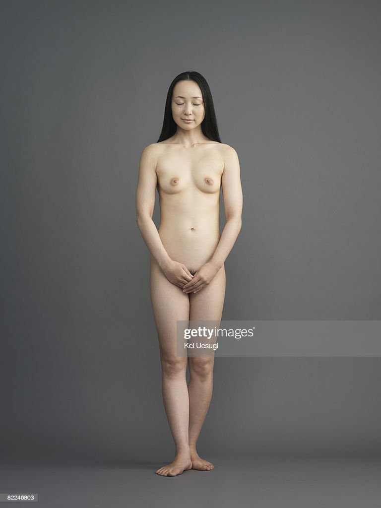 Nude and shaved women