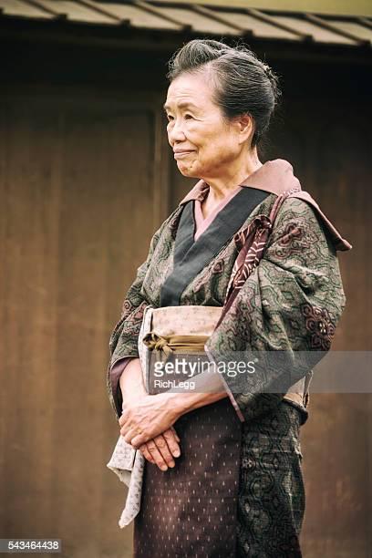 日本の女性、江戸の町 - edo period ストックフォトと画像