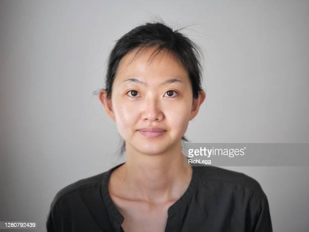 日本の女性 - 素顔 ストックフォトと画像