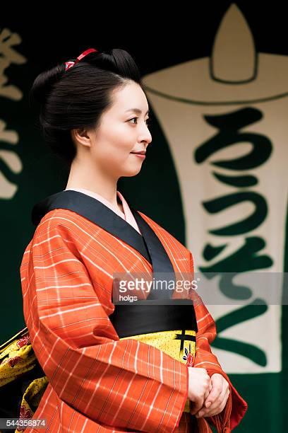 日本の女性  - edo period ストックフォトと画像