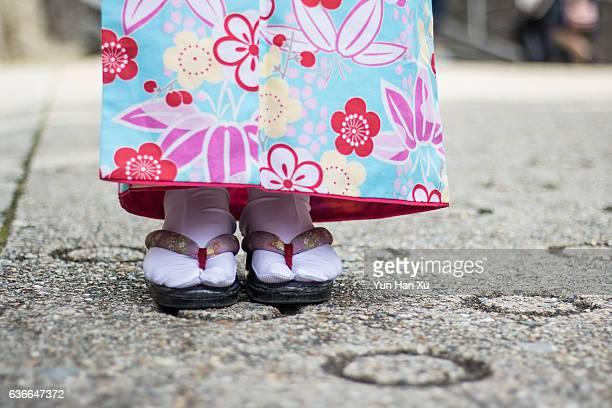 Japanese Womans Feet
