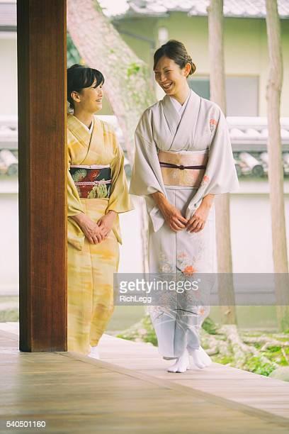 日本女性の寺院