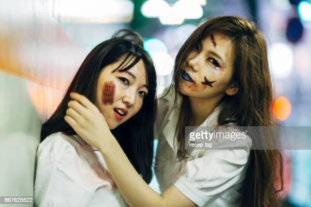ナース衣装で日本女性