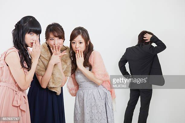 Japanese women to gossip