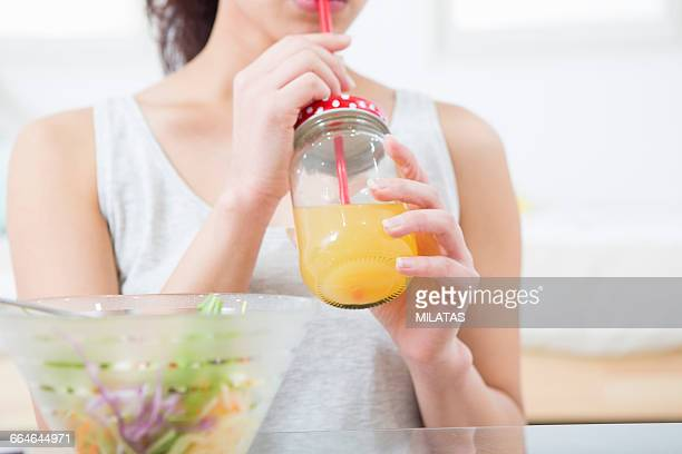 Japanese women who drink the juice