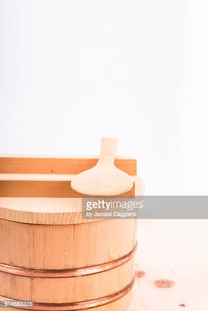 japanese wooden rice bowl - jacopo caggiano stock pictures, royalty-free photos & images