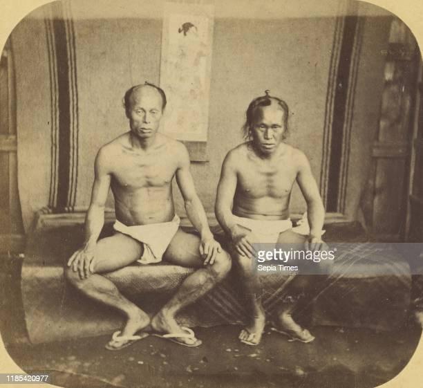 Japanese Workmen in Summer Costume Pierre Joseph Rossier Negretti Zambra 1858Ð1859 Albumen silver print