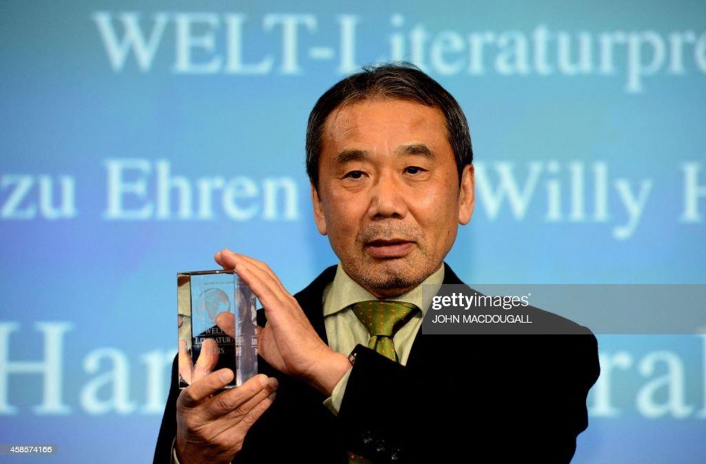 GERMANY-JAPAN-LITERATURE-MURAKAMI : News Photo