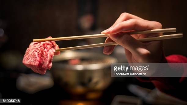 japanese yakiniku - korean culture stock pictures, royalty-free photos & images