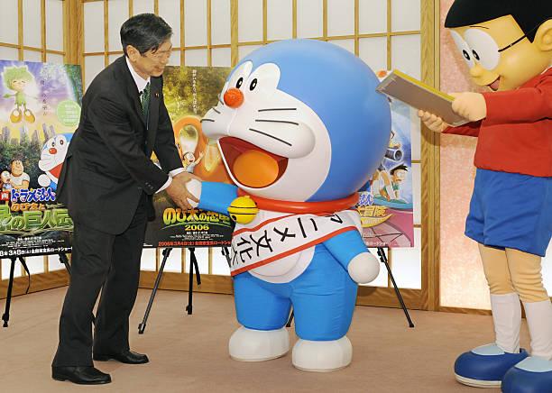 Japans Cartoon Character Doraemon