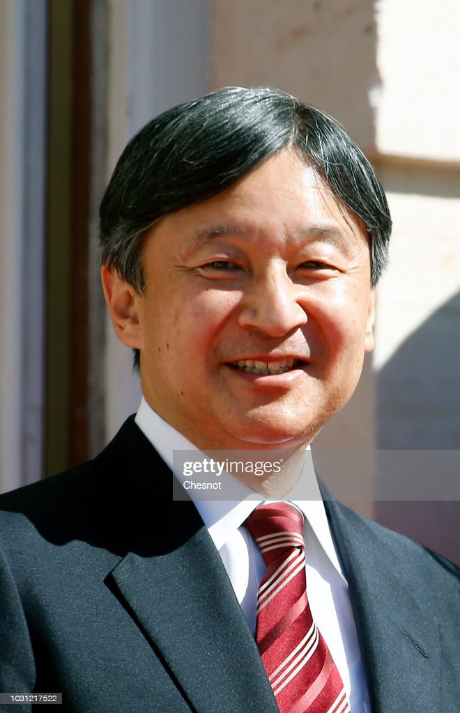 Crown Prince Naruhito of Japan Visits French Parliement