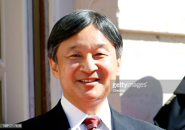 Japan's Crown Prince Naruhito arrives at the National Assembly on September 11 2018 in Paris France Crown Prince Naruhito who will become Emperor on...