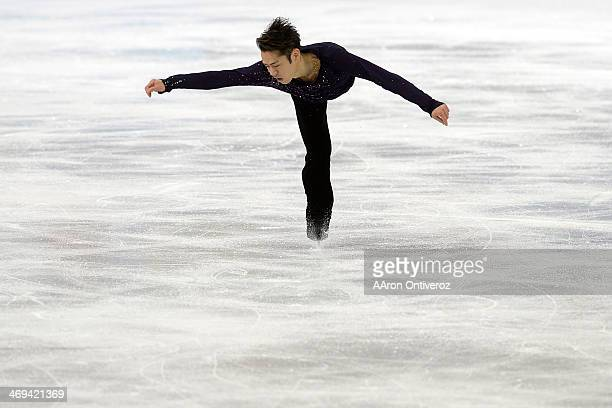 Japan's Daisuke Takahashi during the men's figure skating free skate Sochi 2014 Winter Olympics on Friday February 14 2014