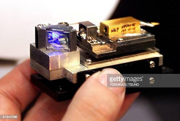 Japan's electronics maker Yokogawa Electric unveils world's first Second Harmonic Generation blue laser light source with oscillated wavelength of...