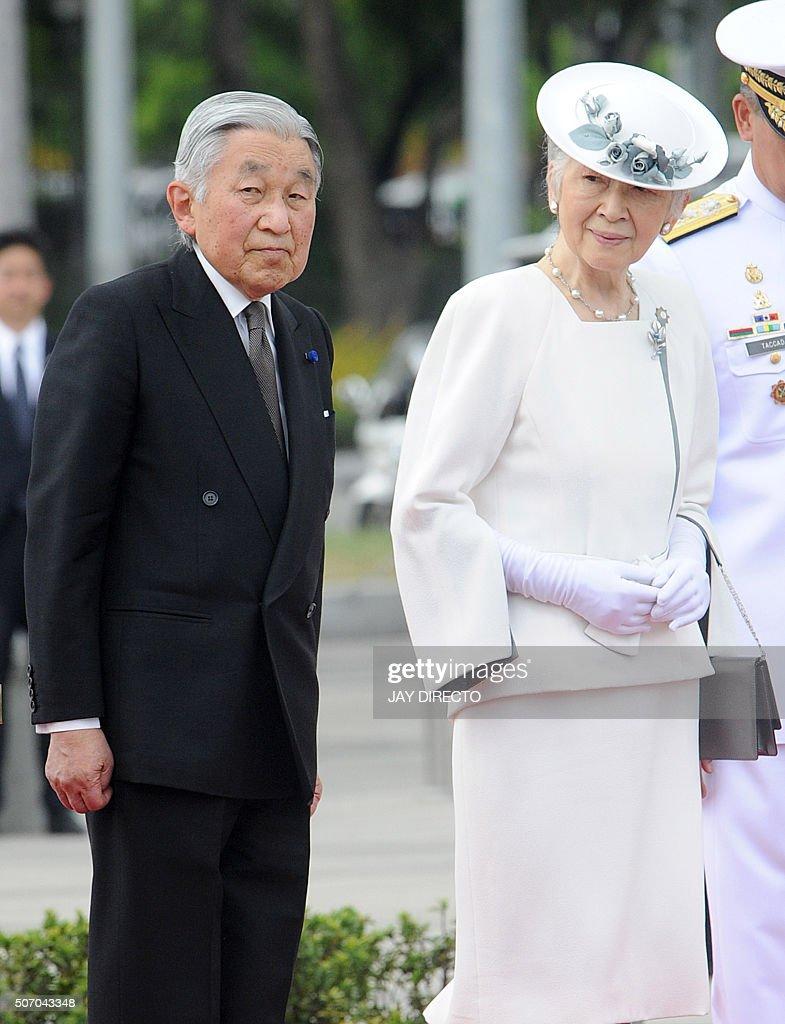 PHILIPPINES-JAPAN-DIPLOMACY : News Photo