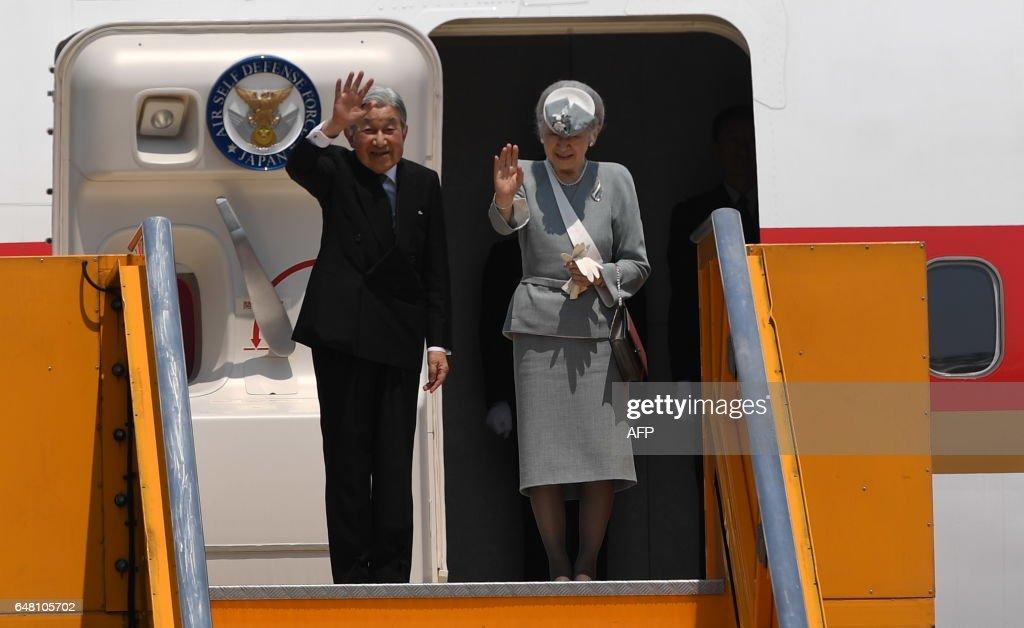 VIETNAM-JAPAN-DIPLOMACY-ROYALS : News Photo